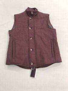 Isaia 2020 Cotton/Silk Vest. 48/38/M. $2150