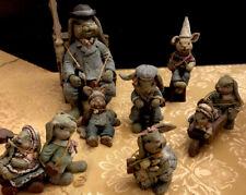 Rare Sarahs Attic Collectible Rabbit Figurines 9 Pieces - Cute Overload