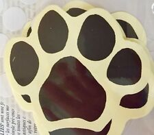 New WALLIES: Dog & Cat Paw Print Wall and Project Stickers 12133