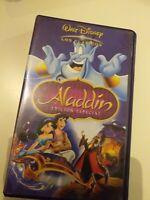 VHS  ALADDIN  EDICION ESPECIAL DISNEY  ( coleccionistas )