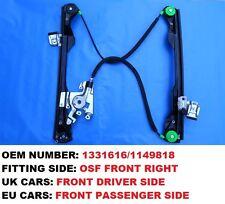 FORD FOCUS MK1 2/3 DOOR FRONT RIGHT UK CAR DRIVER SIDE ELECTRIC WINDOW REGULATOR