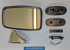 MG MGB/ MGB GT Tex Style Chrome Wing Mirror (Drivers Side/ RH) (GAM215R)