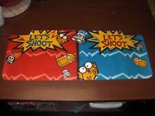 Point Blank arcade NOS CPO sticker contol panel new art overlay Namco