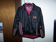 VINTAGE  NHL Chicago Blackhawks Pro Player  ZIP UP Jacket. YOUTH XL - MEN  S