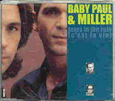 Baby Paul & Miller - Tears In The Rain 1998 CD-Maxi