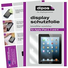 2x Apple iPad 2 / 3 / 4 screen protector protection guard crystal clear
