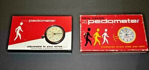 Vintage New Haven 100 Mile Pedometer Model 230