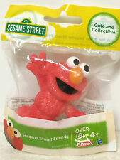 SESAME STREET ELMO PLASTIC FIGURE TOY CAKE TOPPER- NEW!