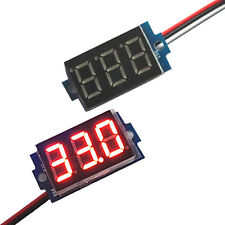 Voltmeter Panel Direct Current DC0-200V 0.36Inch Red LED Digital Display