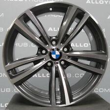 """Genuine BMW 3/4 Series 19"""" inch Stile ORBITA 442M Sport Grigio Anteriore Lega Ruota X1"""