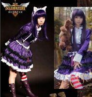 Hot! Custom Made Popular Music Drama Wicked Elphaba Cosplay Costume AA.1086