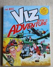 New The Big Viz Book of Adventure Adult Comic Book 224 pages cost £10.99
