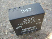 AUDI 80 CABRIOLET CONVERTIBLE ELECTRIC WINDOW RELAY NO. 347 - 441 959 257 D