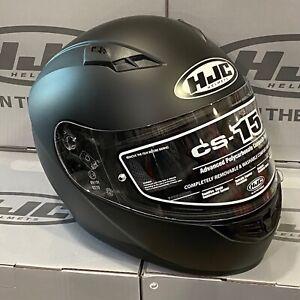 HJC günstiger Motorradhelm CS-15 schwarz matt Integralhelm Helm Motorrad Roller