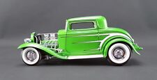 VINTAGE 1932 FORD DEUCE GRAND NATIONAL COUPE SERIES SYNERGY GREEN 1:18 GMP ACME