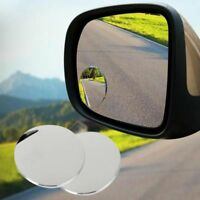 2pcs Top  Wide Angle Round Convex Blind Spot Mirror For Car Auto Rear View Great