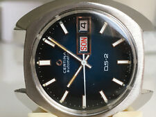 CERTINA DS-2  Certiday Automatic *BLUE dial, 1974*