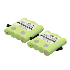 2 X 4.8V 700mAh Ni-MH Battery for MOTOROLA TLKR T6 - BP38/40