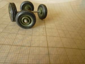 SOLIDO PIECES DETACHEES 2 x 2 roues type remorque militaire 14,2mm (2021 AM)
