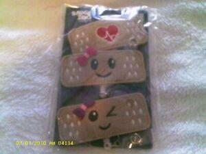 Badge Zoo 3 pk Bandage design badge reel holders for Nurses/ doctors Health Care
