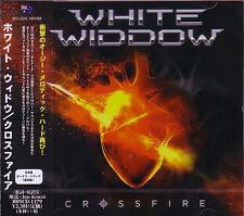 WHITE WIDDOW Crossfire + 1 JAPAN CD Tiger Tailz Vocalist - Survivor Journey Type