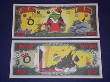 UNC.GRINCH NOVELTY NOTE ONLY .25 SHIPPING FREE SHIP + FREE NOTES!