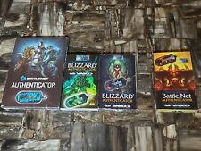Blizzard Blizzcon 09-10 New Authenticators + Standard + USEd 2011 Authenticator