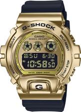 Casio G-Shock Metal Gold Bezel Black-Band GM6900G-9 25th Anniversary