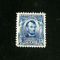 US Stamps # 304 Superb OG H Fresh