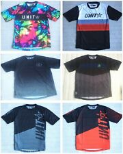 Unit Riders Men Motocross Dirt MTB Bike T-Shirt Short Sleeve Crew Tee  SZ M-XXL