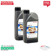 Genuine Honda Manual Transmission MTF-3 Gearbox Oil Fluid - 2 Litres