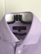 Jaeger Luxury Men Clothing Regular Fit Oxford Shirt, Lilac 15