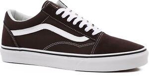 Vans OLD SKOOL - Chocolate Torte Shoes (NEW) Mens 6.5-13 : BROWN  Free Shipping