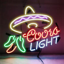 Neon Signs Coors Light Cayenne Cushaw Beer Bar Pub Party Store Gift Decor 19x15