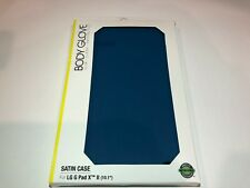 "NEW OEM Body Glove Satin Blue Case For LG G Pad X II 10.1"" Satin Finish (10.1"")"