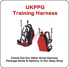 Ground Handling Training Paraglider Paramotor Tandem Harness (No Carabiners)