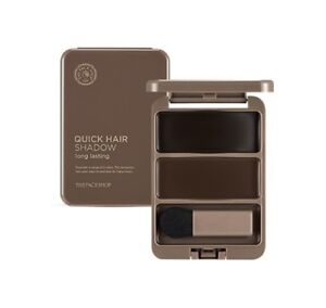 The Face Shop Quick Hair Shadow 2 Color 20 g Long Lasting Cover Gray and Make U