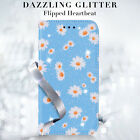 Case for Samsung S20 S10 Lite A41 Bling PU Leahter Flip Wallet Stand Phone Cover