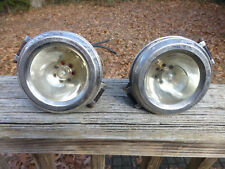 """Brass Era Cowl Lights matched 4 3/4"""" Lincoln Cadillac Dodge Plymouth Chrysler"""