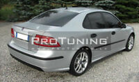 For Saab 9-3 Rear Bumper Lower Extention Spoiler Aero Look Diffuser