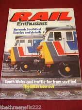 RAIL ENTHUSIAST #59 - THE EM2s BOW OUT - AUG 1986
