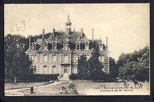 Carte Postale Ancienne 76 - BACQUEVILLE (Seine Maritime) CHÂTEAU de M. MOREL