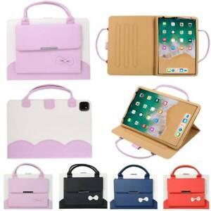 "Leather Handbag Case Cover For iPad Mini Air Pro 9.7"" 10.2"" 10.5"" 11"" 12.9"" inch"