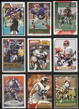 GARY KUBIAK Denver Broncos 1990 Fleer Update SIGNED / AUTOGRAPH Football Card