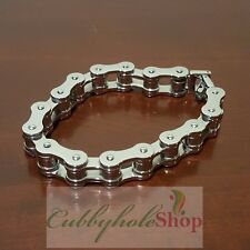 Cubbyhole24 Bicycle Chain Stainless Steel Men's Bracelet