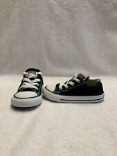 Converse All Star Chuck Taylor Infant/Toddler Boys Black Shoes~size 7 C