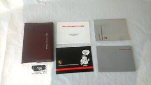 [M1-88] 1988 Porsche 911 924 944 930 Drivers Owners Manual Handbook Service Pack
