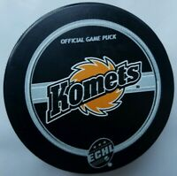 FORT WAYNE KOMETS ECHL SHER-WOOD INGLASCO OFFICIAL GAME PUCK HOCKEY SLOVAKIA