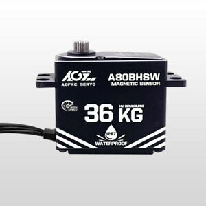 Brushless Servo 36KG HV AGF-RC A80BHSW Full Metal Case Waterproof High Voltage