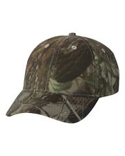 Kati Structured Camouflage Cap LC10 Camo Baseball Hat Realtree Hardwood HD Green